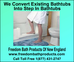 Convert existing tub into step in bathtub!