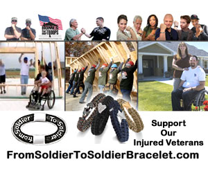 Support Our Injured Veterans - From Soldier to Soldier Bracelet