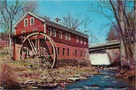 Old Grist Mill and Water Wheel